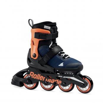 Детские раздвижные роликовые коньки Rollerblade Microblade Orange