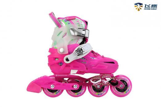 Детские  роликовые коньки Flying Eagle S6S Junior Розовый