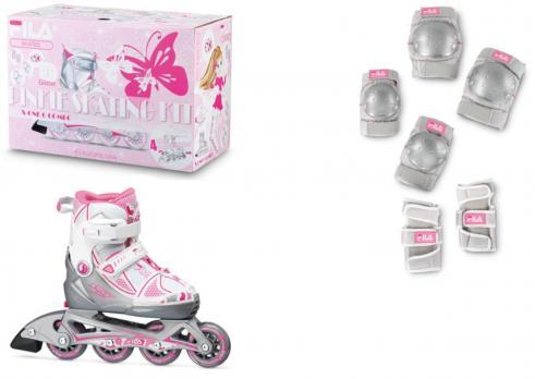 Детские  роликовые коньки Fila X-One Combo G 2 Set