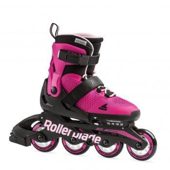 Детские раздвижные роликовые коньки Rollerblade Microblade G Pink Bubblegum