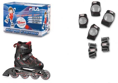 Детские  роликовые коньки Fila X-One Combo 2 Set