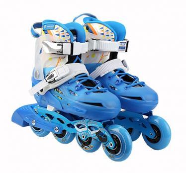 Детские  роликовые коньки Flying Eagle S6S Junior Синий