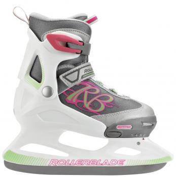 Детские раздвижные коньки Rollerblade Comet Ice G gray rose white