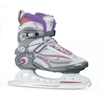 Коньки ледовые FILA PRIMO ICE Gray/Wht/Violet