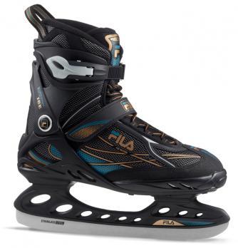 Ледовые коньки FILA PRIMO ICE black/blue/bronze