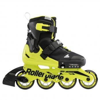 Роликовые коньки Rollerblade Microblade BLACK/NEON YELLOW