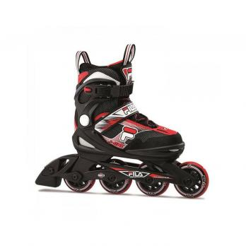 Роликовые коньки FILA J-One Black Red